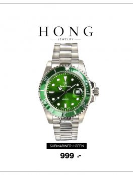 Royal crown watch 3663L 3663M Green