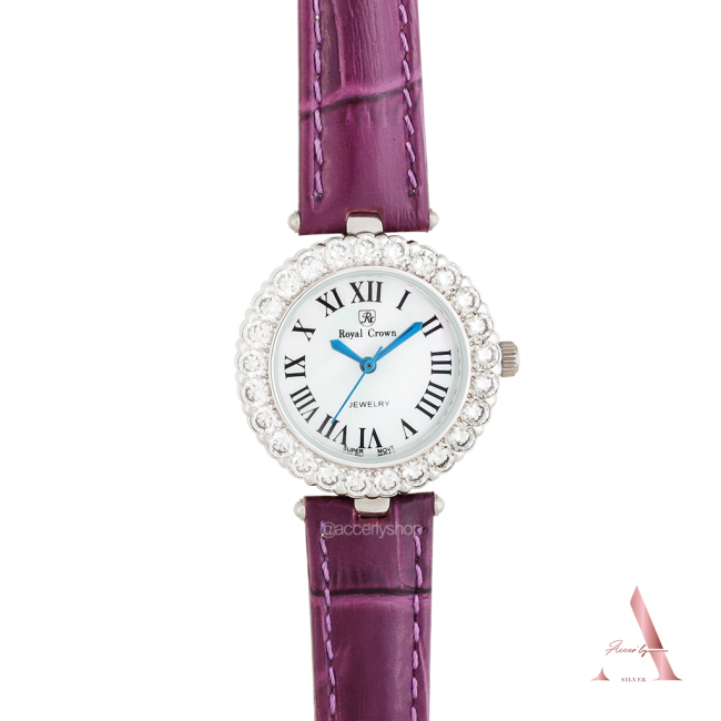 Royal crown watch 6305 leather