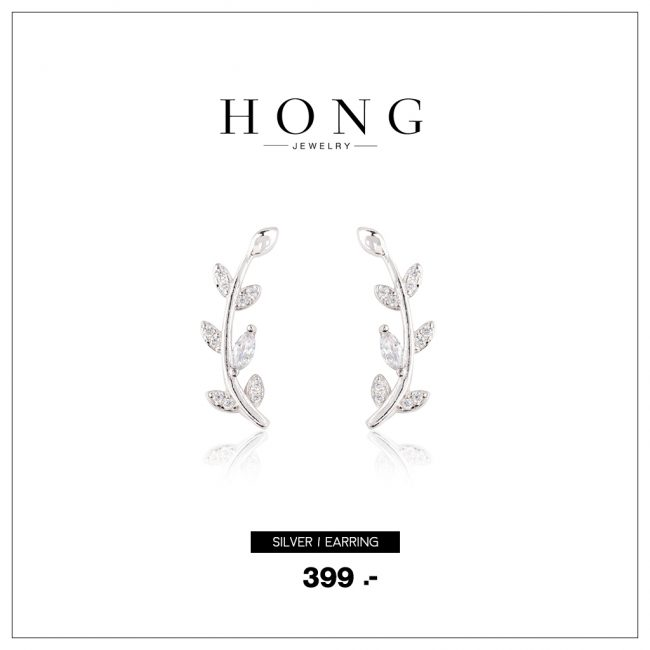 silver earring 92.5% EAR004