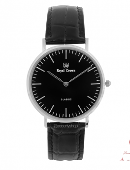 Royal Crown watch 7601L leather
